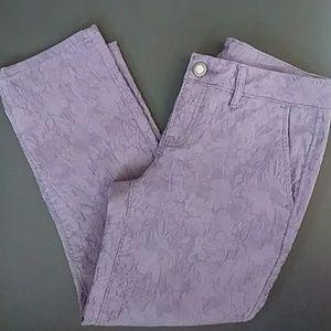 Simply Vera Purple Jeans Straight Leg